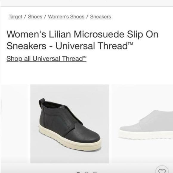 Lilian microsuede slip on sneakers